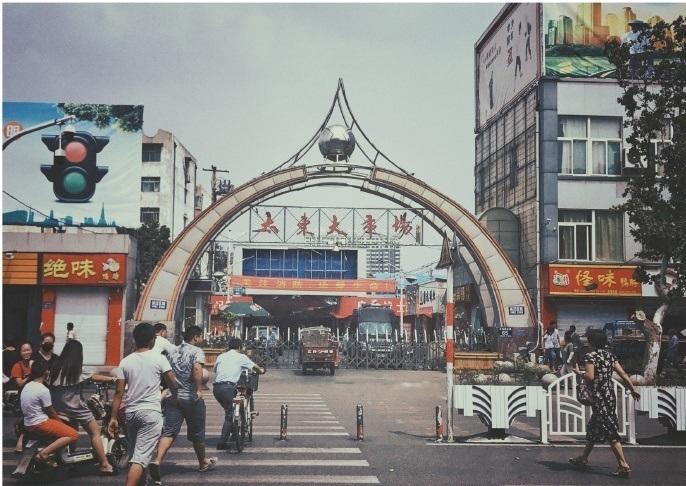 济宁太东服装市场