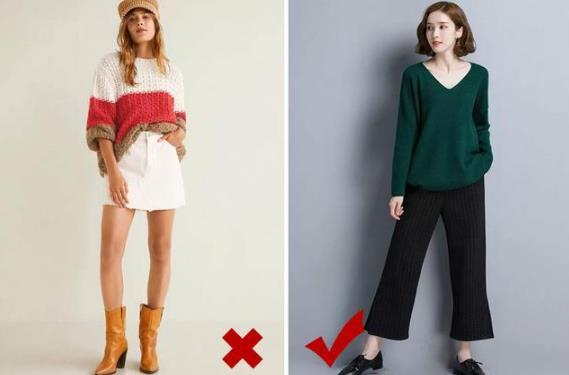 胯部宽的女生穿衣搭配,胯大的女生适合穿什么衣服