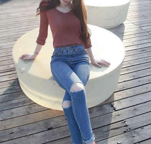 2019春季牛仔裤小姐姐清新时尚:青春活力有魅力