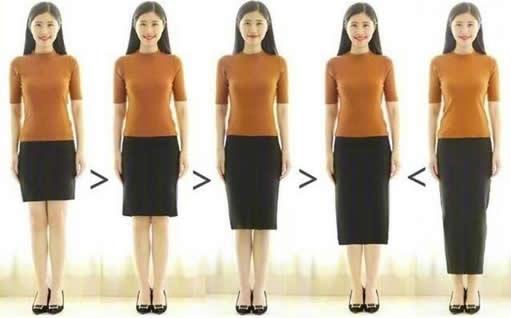小个子女生穿出高瘦美技巧:没有身高但有比例