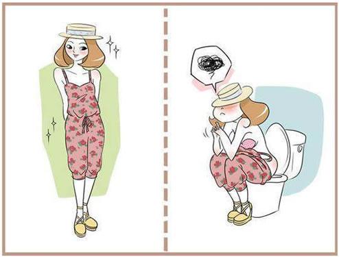 女孩什么身材适合穿连体裤:连体裤怎么上厕所图片