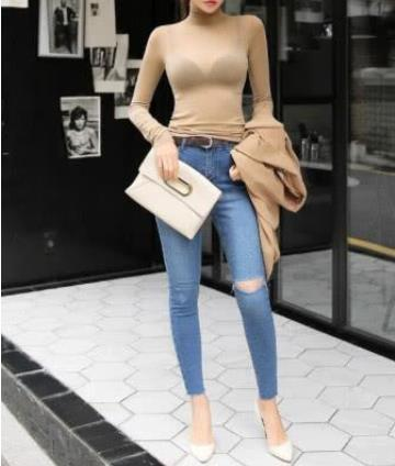 2019牛仔裤依旧性感时髦:美丽的身姿(图)
