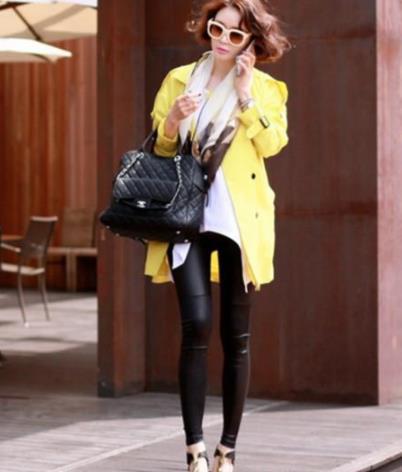 街拍韩国美女怎么穿都好看:这身材好羡慕(图)