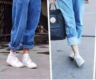 腿粗穿什么裤子显瘦:腿粗屁股大的穿衣搭配图片