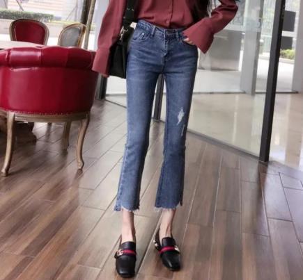 牛仔裤配什么鞋子好看:推荐2018热门搭配(图)