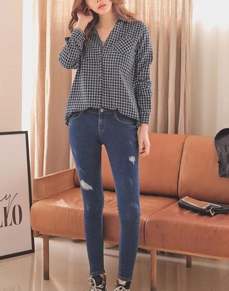 格子衫怎么搭配:格子衬衫搭配图片,格子衬衫怎么穿好看