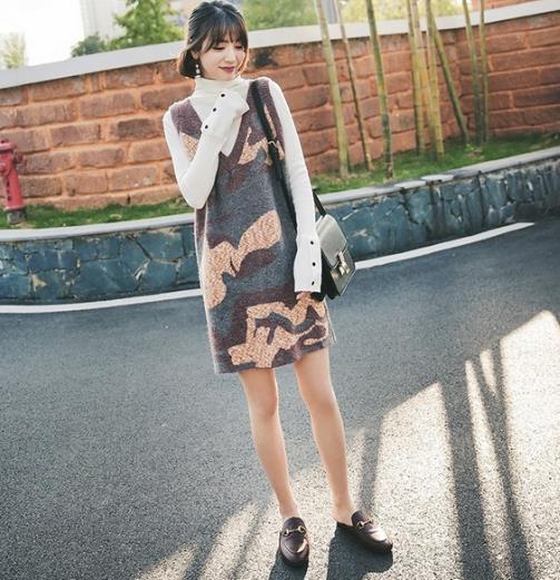 穿正好的针织连衣裙 看最美的风景(图)