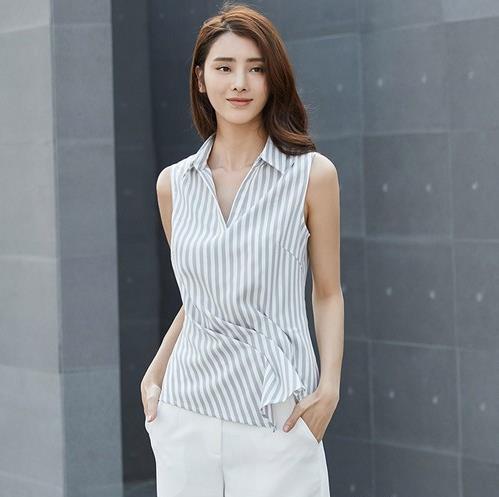 春季你值的拥有一件显瘦性感的条纹衬衫(图)