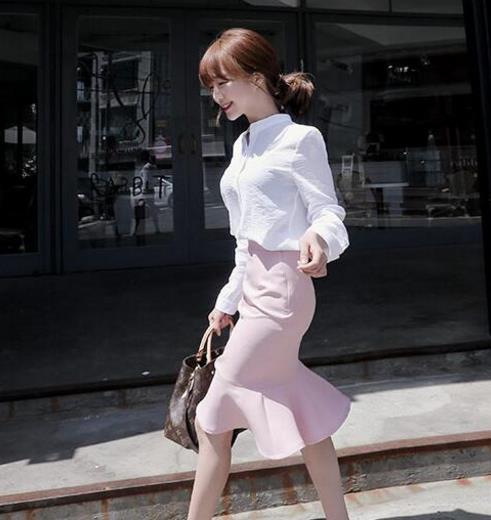 性感迷人的包臀裙 随便配件上衣都能美到爆