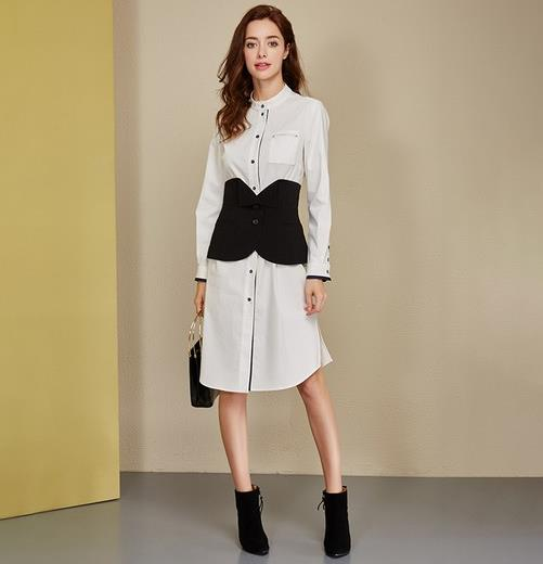 春季穿搭挑个时髦单品 就从衬衫裙开始(图)