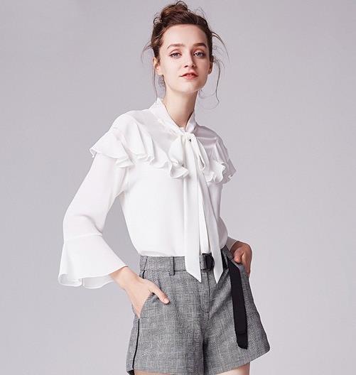 春天就从显瘦时髦的纯棉衬衫开始(图)