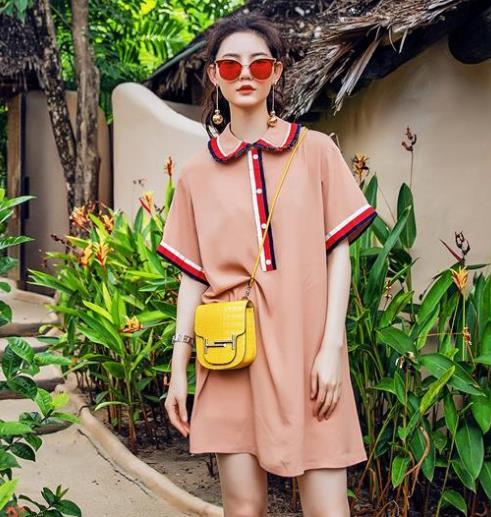 早春即将大火的衬衫裙:时髦显瘦又性感(图)