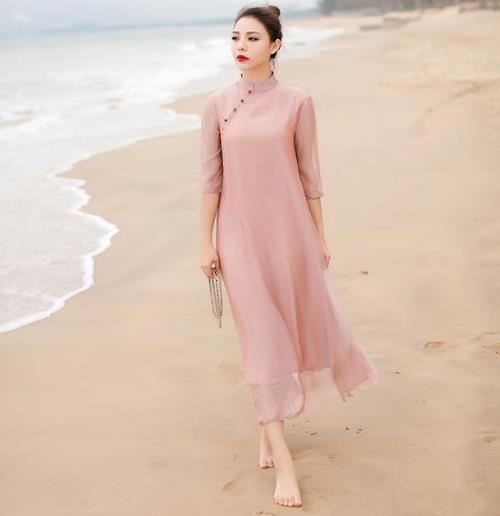 选对适合自己颜色的连衣裙 美感增加百倍