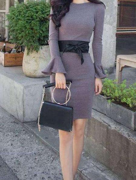 身材有料穿上包臀裙:女人才能显出女人味(图)