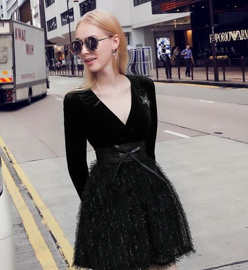 春款连衣裙帮你穿出女人的魅力与气质(图)
