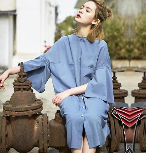 穿上春季新款荷叶边衬衫裙你就是女主角(图)
