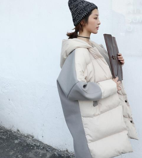 青春时尚的最爱 毛领连帽棉外套搭配示范(图)