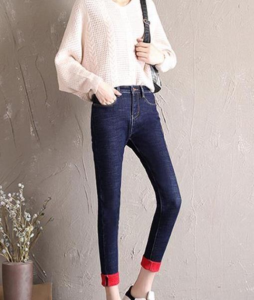 九分小脚牛仔裤,拥有别人羡慕的大长腿(图)