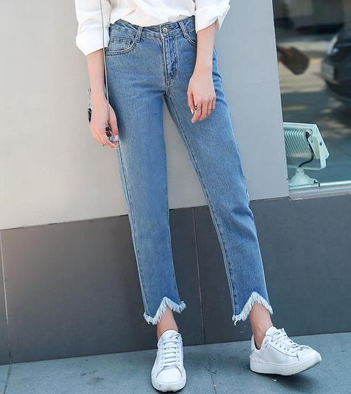 穿牛仔裤有套路:精致女人都这样穿(图)