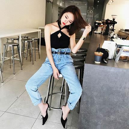 九分裤的长度:春季轻松穿出时髦街头范(图)