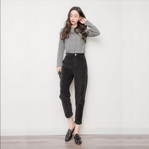 腿粗穿什么裤子好看:腿粗的女生穿它更好看(图)