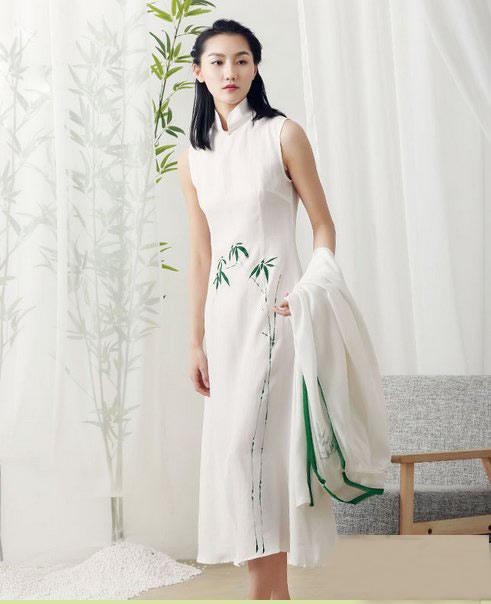 古韵中式美服装2018美搭:复古中国风的女子就是好看