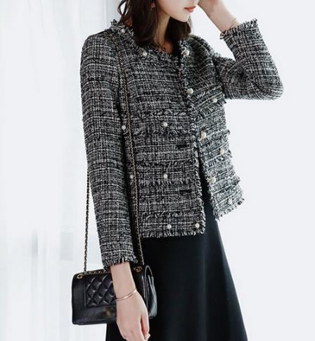 春季流行复古名媛范儿 小香风外套的多种搭配