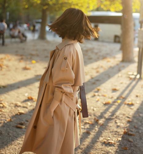 今年春季最流行轻熟风:风衣的魅力锐不可当