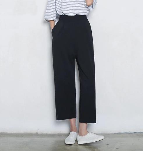腿粗的MM今年只选择显瘦又洋气的阔腿裤