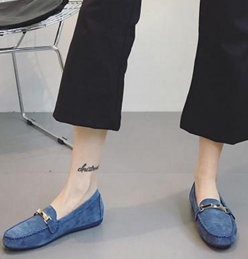 时尚百搭又舒适的豆豆鞋 早春穿出女人味(图)