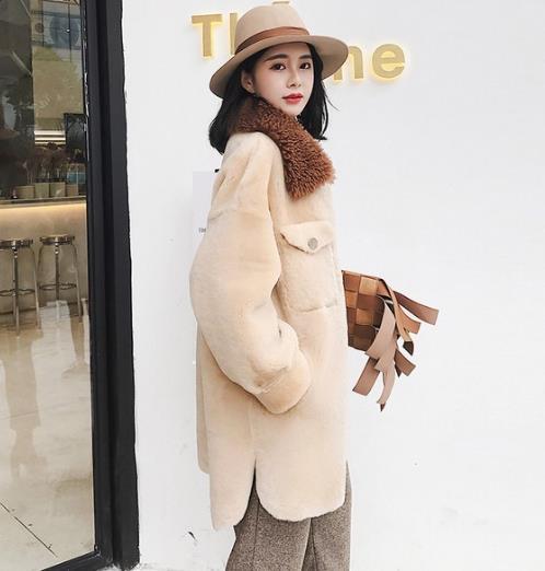 春季必备外套 羊糕毛剪绒外套的多种搭配推荐(图)