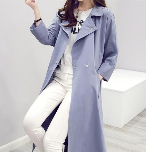 宽松舒适的早春外套 时尚显瘦显气质