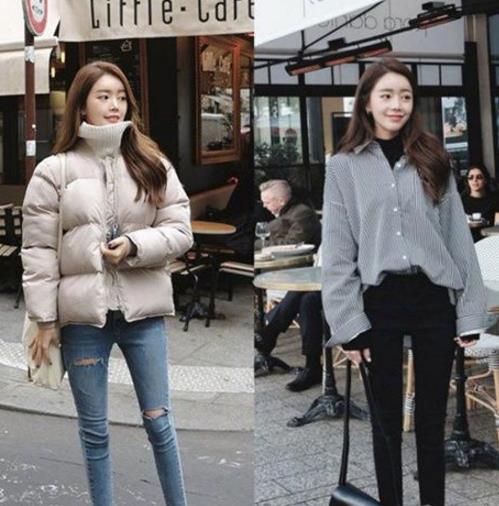 2018年韩国小姐姐的冬装搭配示范(图)