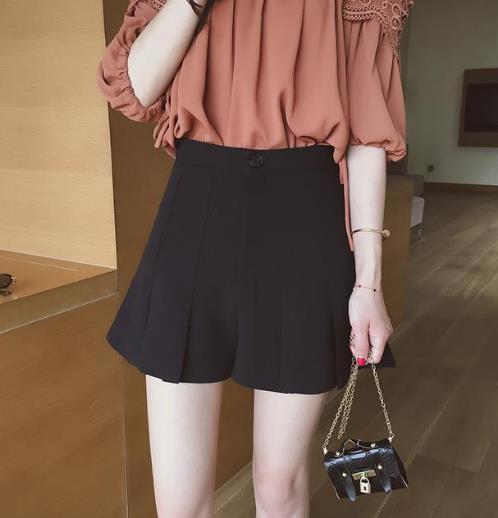 小个子女生必备短款半身裙 显高又显瘦(图)
