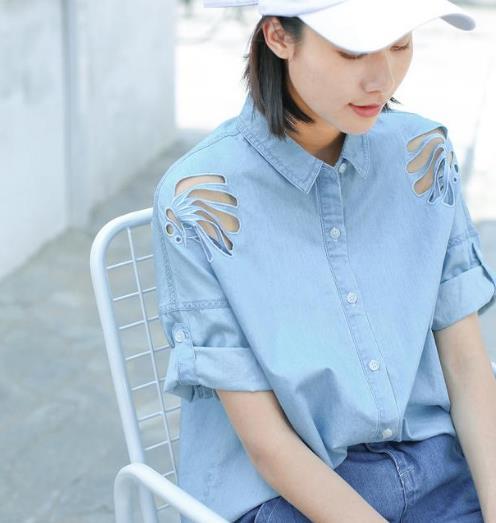6款时尚牛仔衬衫 帅气性感又百搭(图)