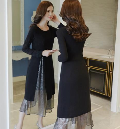 这几款连衣裙搭配 让你的秋冬不再单调
