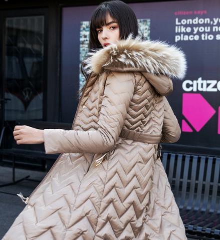 让你穿出超模感的羽绒服搭配示范 显瘦显气质(图)