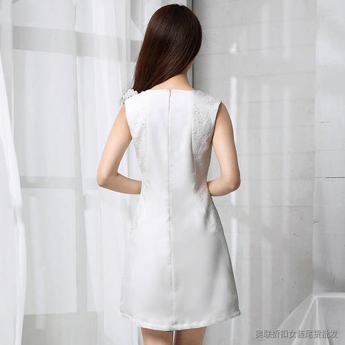 优雅时尚纯色裙 (10)