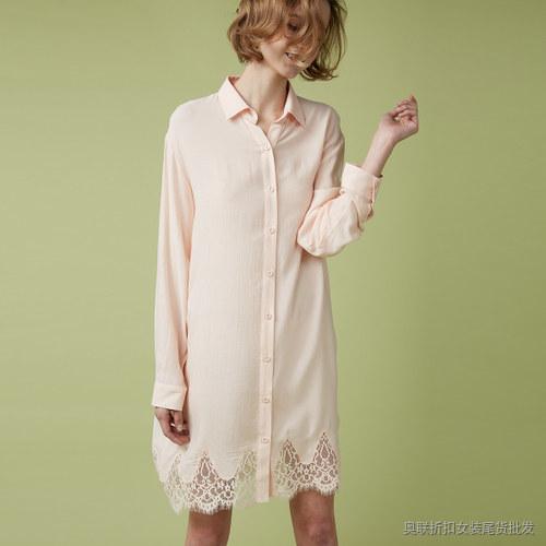 衬衫式裙衫