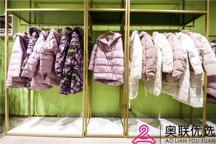 欧丝蒂雅女装专柜品牌针织衫折扣货源走份批发