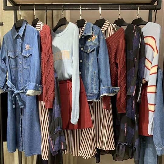 时尚女装货源 尤西子品牌女装特价清仓