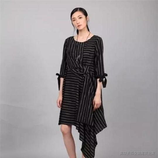 工作服批发市场 一席之地韩版大码女装尾货批发货源
